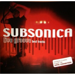 Subsonica & Motel Connection – Live Groove Best Track - CD Album - Compilation Promo