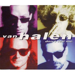 Van Halen ‎– Don't Tell Me - CD Maxi Single