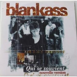 Blankass - Qui Se Souvient - CD Single 2 Tracks