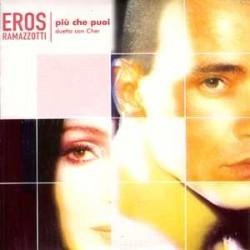 Eros Ramazzotti Duetto Con Cher – Più Che Puoi - CD Single - Cardboard Sleeve