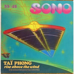 Taï Phong (Goldman)  ‎– Rise Above The Wind - Maxi Vinyl 12 inches