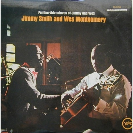 Jimmy Smith & Wes Montgomery ‎– Further Adventures Of Jimmy Smith & Wes Montgomery - LP Vinyl