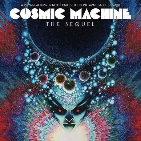 Cosmic Machine – A Voyage Across French Cosmic & Electronic Avantgarde(70s-80s vol.2 – The Sequel - Double LP Vinyl Coloured