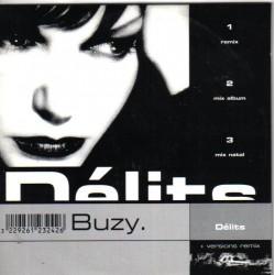 Buzy - Délits - CD Single Promo 3 Tracks