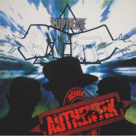 NTM - Authentik Remix - Maxi Vinyl - Coloured Red - Couleur Rouge