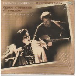 Cabrel Francis & Mercedes Sosa - Vengo a Ofrecer Mi Corazon - CD Single Promo
