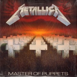 Metallica ‎– Master Of Puppets - LP Vinyl - Reedition