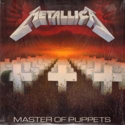 Metallica – Master Of Puppets - LP Vinyl - Reedition