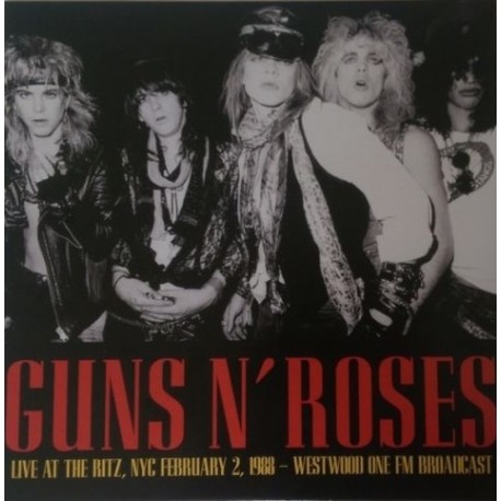 Guns N' Roses ‎– Live At The Ritz, NYC February 2 1988 - Westwood One FM Broadcast - LP Vinyl