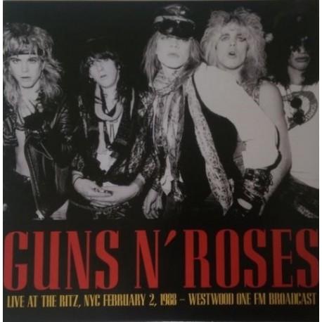Guns N' Roses – Live At The Ritz, NYC February 2 1988 - Westwood One FM Broadcast - LP Vinyl
