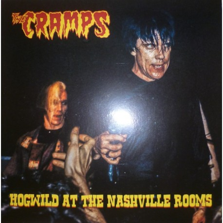 The Cramps – Hogwild At The Nashville Rooms - Coloured Yellow - LP Vinyl