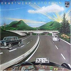 Kraftwerk ‎– Autobahn - Coloured Blue Marbled - LP Vinyl Album