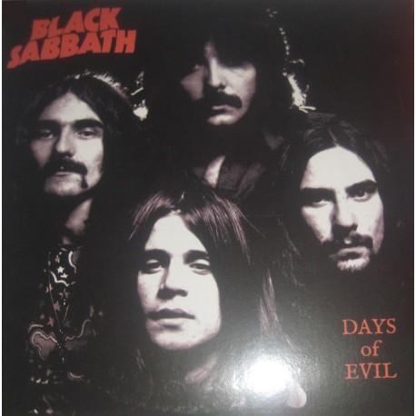 Black Sabbath – Days Of Evil - LP Album Vinyl - Coloured White