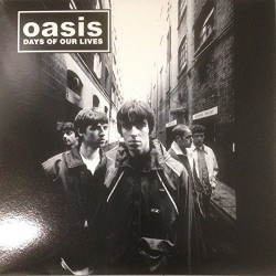 Oasis - Days of Our Lives - LP Album Vinyl - Live