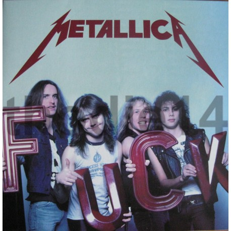 Metallica ‎– Fuck - Coloured Vinyl - LP Album - Limited Edition - Live