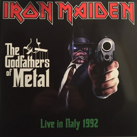 Iron Maiden ‎– The Godfathers Of Metal - Live in Italy 1992 - Limited Edition - Double LP Vinyl Album - Coloured Clear