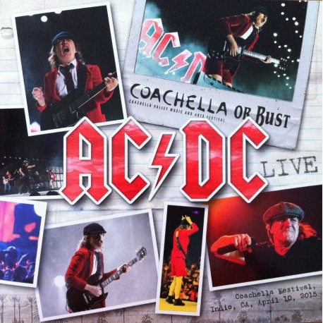 AC/DC ‎– Coachella Or Bust - Double LP Vinyl Album - Coloured Records