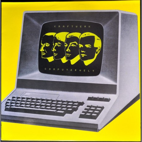 Kraftwerk ‎– Computerwelt - Coloured Yellow Amber - LP Vinyl Album