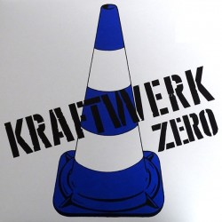 Kraftwerk ‎– Zero - Coloured Blue - LP Vinyl Album