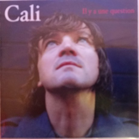 Cali - Il Y A Une Question - CD Single Promo 1 Track
