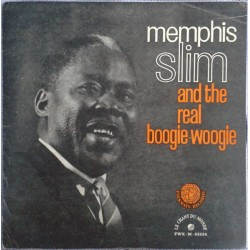 Memphis Slim ‎– And The Real Boogie-Woogie - LP Vinyl Album Gatefold