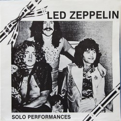 Led Zeppelin ‎– Solo Performances - LP Vinyl Album