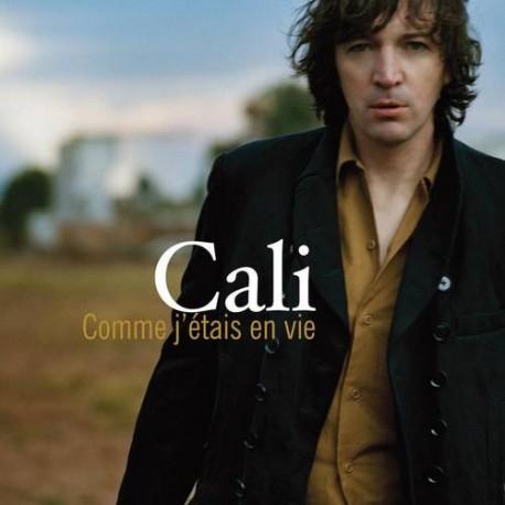 Cali - Comme J'étais En Vie - CD Single Promo 1 Track