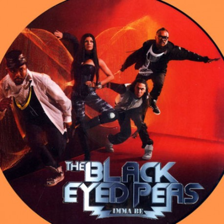 The Black Eyed Peas – Imma Be - Boom Boom - Maxi Vinyl 12 inches - Picture Disc