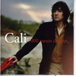 Cali - 1000 Coeurs Debout - CD Single Promo 2 Tracks