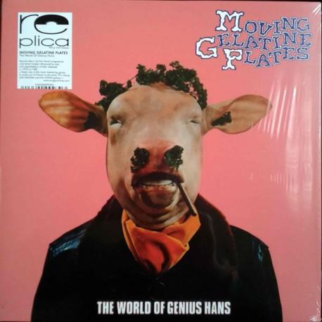 Moving Gelatine Plates – The World Of Genius Hans - LP Vinyl Album - Gatefold