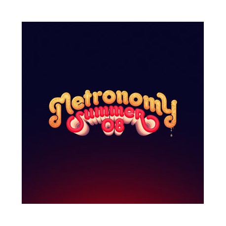 Metronomy - Summer 08 - LP Vinyl Album + CD