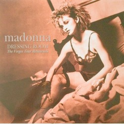 Madonna ‎– Dressing Room The Virgin Tour Rehearsals - LP Vinyl Album - Limited Edition - Coloured White Record
