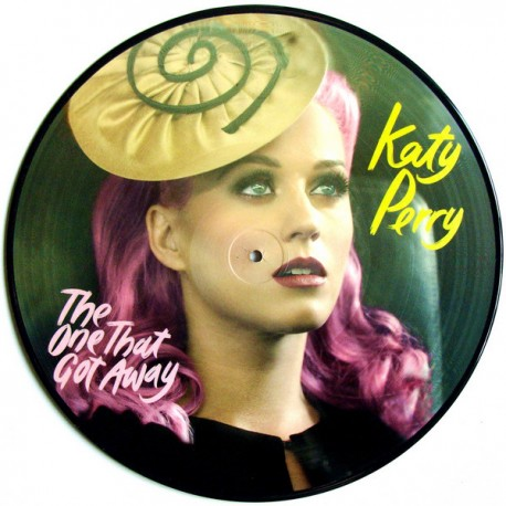 Katy Perry ‎– The One That Got Away - Picture Disc - Maxi Vinyl 12 inches