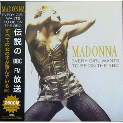 Madonna ‎– Every Girl Wants To Be On The BBC - Double LP Vinyl - Coloured Blue