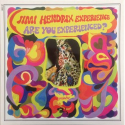 The Jimi Hendrix Experience ‎– Are You Experienced? - LP Vinyl Album - Black Vinyl