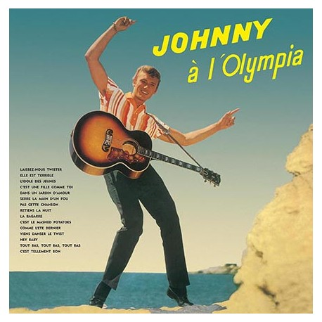 Johnny Hallyday ‎– Johnny A L'Olympia - LP Vinyl Album