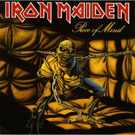 Iron Maiden ‎– Piece Of Mind - LP Vinyl Album