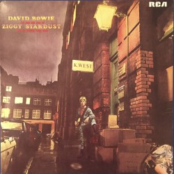 David Bowie ‎– The Rise And Fall Of Ziggy Stardust And The Spiders From Mars - LP Vinyl Album - Coloured Blue Green Marbled