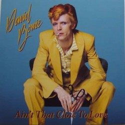 David Bowie ‎– Ain't That Close To Love - LP Vinyl Album - Coloured Clear