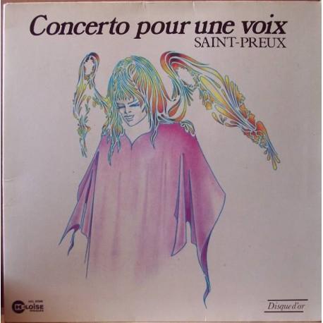Saint-Preux – Concerto Pour Une Voix - LP Vinyl Gatefold