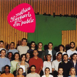 Boogaerts ‎Mathieu – En Public - CD Album 13 Tracks