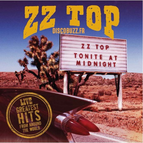 ZZ TOP - Live - Greatest Hits From Around The World - Double LP Vinyle Album