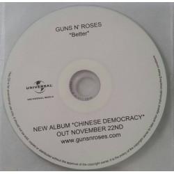 Guns N' Roses – Better - CDr Single Promo
