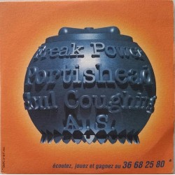 Portishead - Freak Power -  A.S - Soul Coughing - Compilation - CD Single Promo Cardboard Slevve