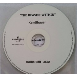 The Reason Within - Kandlbauer - CDr Single Promo