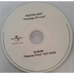 Razorlight ‎– Hostage Of Love - CDr Single Promo