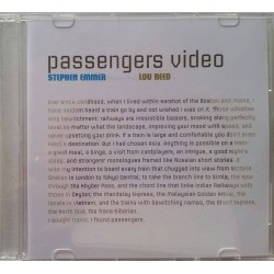 Stephen Emmer feat. Lou Reed ‎– Passengers - DVD Promo Single