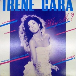 Irene Cara - Roman Holliday ‎– Why Me? - Don't Try To Stop It - Maxi Vinyl 12 inches - Promo