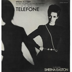 Sheena Easton - Kajagoogoo ‎– Telefone (Long Distance Love Affair) - Hang On Now - Maxi Vinyl 12 inches Promo