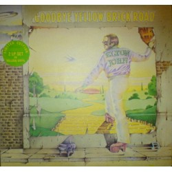 Elton John ‎– Goodbye Yellow Brick Road - Double LP Vinyl - Coloured Yellow